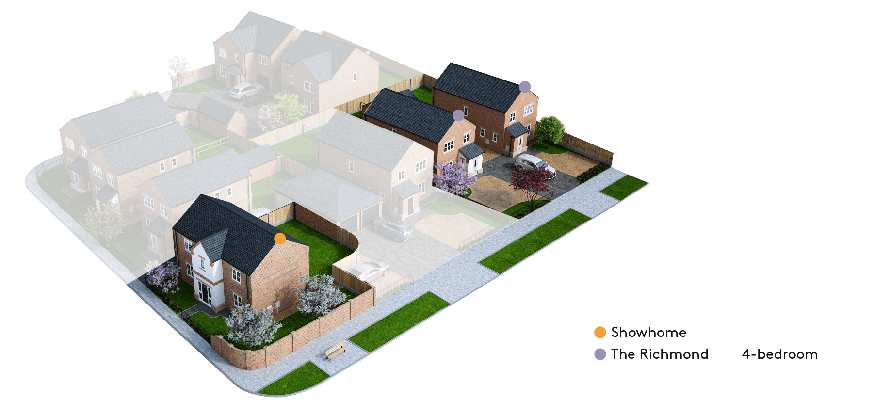 Finningley Court site plan – phase 1