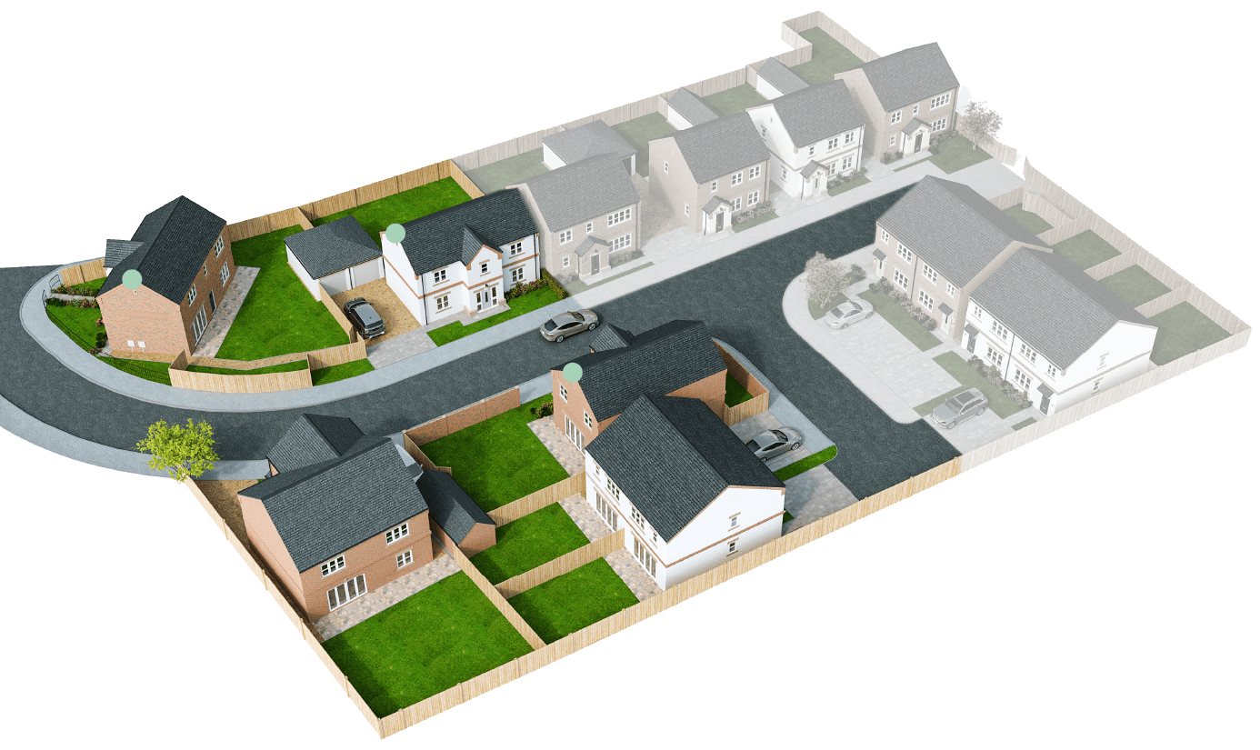 Finningley Court site plan – The Winchester