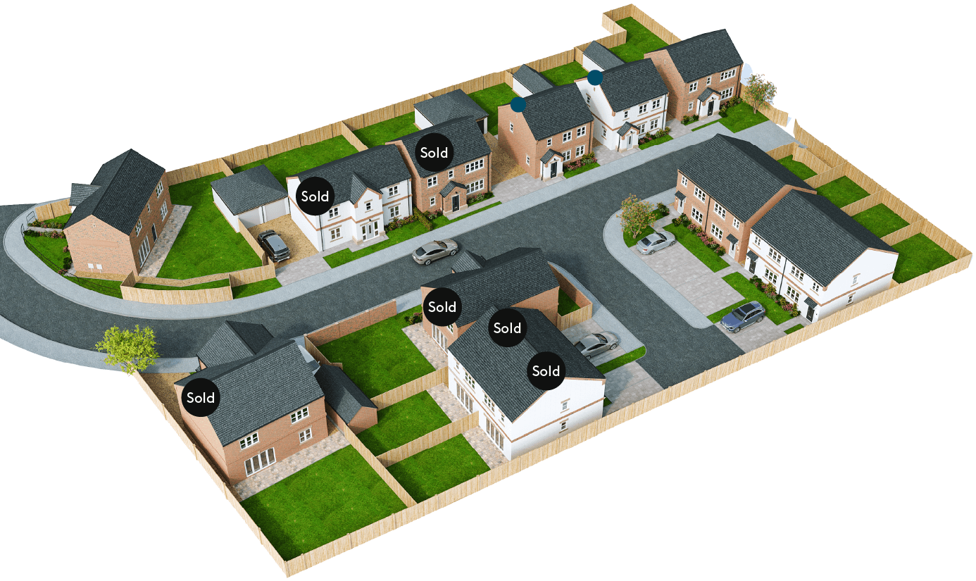 Finningley Court site plan – The Leyburn